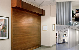 Accordion and Rolling Counter Doors