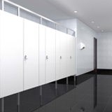 Sustainable + Contemporary Commercial Restroom Materials